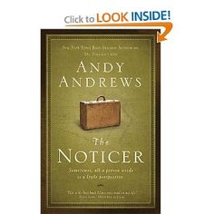 The Noticer: Sometimes, all a person needs is a little perspective FANTASTIC Book!
