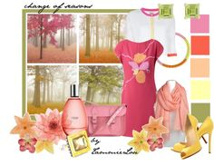 """""""change of seasons"""" by tammielou1958 ❤ liked on Polyvore"""