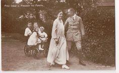Vintage Postcard Prince Oskar of Prussia Family | eBay