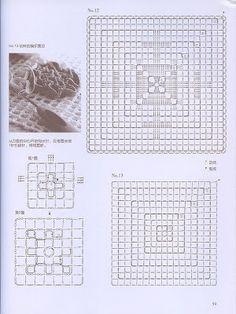 Crochet and arts: Tunisian crochet