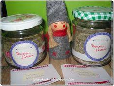 Takarékos konyha: Provence-i fűszersó házilag gasztroajándéknak Gourmet Gifts, Provence, Mason Jars, Food, Essen, Mason Jar, Meals, Yemek, Eten