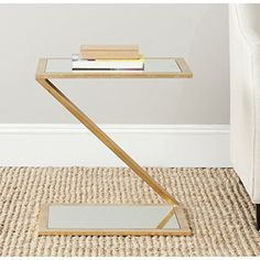 Safavieh Home Collection Andrea Gold Accent Table ** Click image for more details.