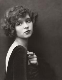 Sixteen-year-old Clara Bow photographed by Nickolas Muray circa 1921.