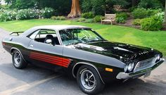 Challenger Rallye 340 4 bbl.  As cool as you could get in 1972 or '73.