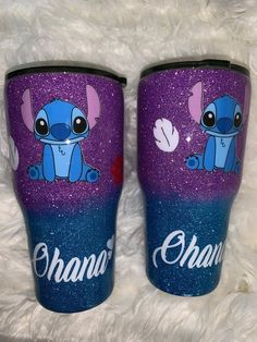 Your place to buy and sell all things handmade Starbucks Tumbler, Custom Starbucks Cup, Marathon Motivation, Cute Stitch, Lilo Stitch, Lilo And Stitch Cake, Mickey Balloons, Crochet Cup Cozy, Disney Stitch