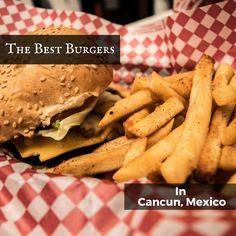 Tim and Cris from Marginal Boundaries show you where to get the best burgers in Cancun the next time you are in the Riviera Maya.