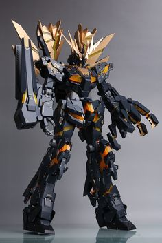GUNDAM GUY: PG 1/60 Unicorn Gundam 02 Banshee - Painted Build
