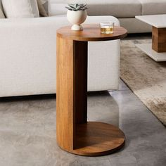 Abrigo C-Side Table: $199 mango wood