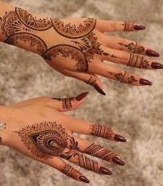 Different Henna Designs to Apply on this Eid