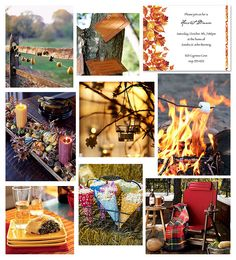 Rustic Harvest Party by finestationery, via Flickr