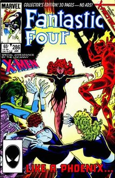 "Fantastic Four # 286 ""Like a Phoenix!"""
