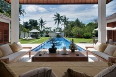 Villa Les Rizieres in Bali | HomeDSGN, a daily source for inspiration and fresh ideas on interior design and home decoration.