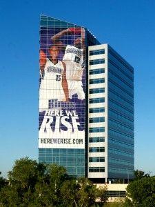 Here We Rise!   Sacramento Kings Building Wrap   Blog Post 2010