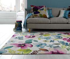 51 living room interior ideas - Bluebellgray rug