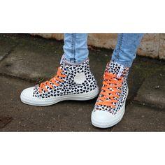 Converse Chucks Hi Marimekko White Black Orange
