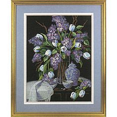 @Overstock - Crewel embroidery kit includes all you'll ever need to create a masterpiece  Needlework kit features a lilacs and lace design  Kit boasts vibrant shades of cotton thread, wool and acrylic yarnhttp://www.overstock.com/Crafts-Sewing/Lilacs-and-Lace-Crewel-Kit/3372838/product.html?CID=214117 $19.49