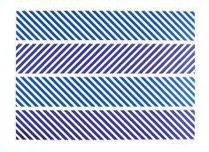 Untitled (Rothko Portfolio) - Bridget Riley - James Hyman: Fine Art and Photographs Bridget Riley Artwork, Geometric Graphic, Concrete Art, Photography Illustration, Illusion Art, Pattern Wallpaper, Modern Art, Contemporary, Pattern Design