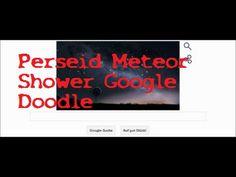 Perseid Meteor Shower 08/11/14 Google Doodle