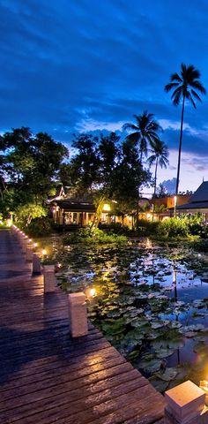 Dusk in Phuket,Thailand.