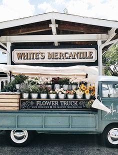 flower truck, Nashvi
