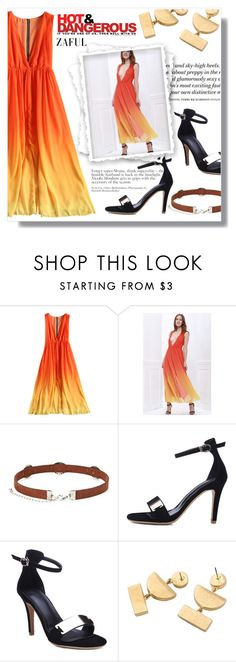 """""""Hot & Dangerous"""" by fashion-pol ❤ liked on Polyvore featuring H&M"""