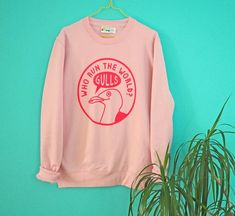 The Fairy Tale Fair: Just Daydreaming - Colonnade House Graphic Sweatshirt, Pink Jumper, Spice Girls, Pale Pink, Girl Power, Pink Girl, Fairy Tales, Trending Outfits, Humor