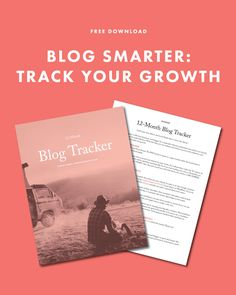 Free download to track your blog social media and website growth, blog tips, blog tutorial, how to grow your blog,