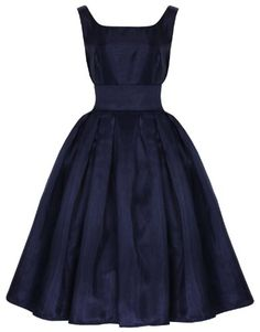 New Lindy Bop 'Lana' Classic Elegant Vintage Prom Dress Ball Gown Fifties Vintage Prom, Robes D'inspiration Vintage, Vintage Outfits, Vintage Mode, Vintage 1950s Dresses, Look Vintage, Vintage Inspired Dresses, Vintage Fashion, Women's Fashion