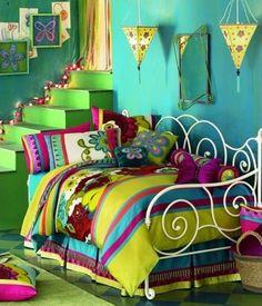 Colores vibrantes