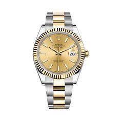 #Rolex Datejust Gold & Stainless Steel #Watch