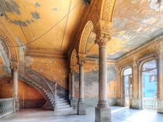 decaying interior of such excruciating beauty