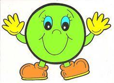 The pre-kindergarten-school-funny-easy-painting - - Montessori Activities, Craft Activities For Kids, Preschool Activities, Classroom Board, Classroom Decor, Alphabet Letter Crafts, File Folder Activities, Shape Pictures, Teaching Aids