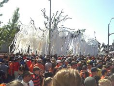 A-Day 2013 and last roll at Toomers!