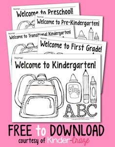 FREE coloring pages for back to school - Pinned by @PediaStaff – Please Visit ht.ly/63sNt for all our pediatric therapy pins