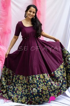 Indian Gowns Dresses, Indian Fashion Dresses, Dress Indian Style, Indian Wear, Indian Outfits, Party Wear Long Gowns, Party Wear Frocks, Half Saree Designs, Dress Designs