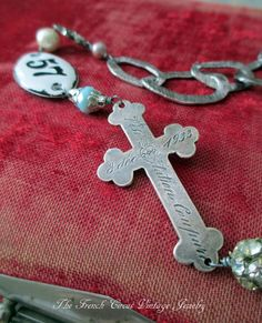 NOTRE DAME TRESORS vintage assemblage necklace by TheFrenchCircus