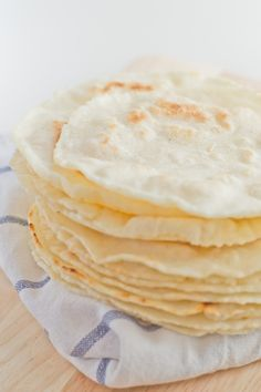 This recipe for gluten free tortillas is a triple threat - vegan, gluten, dairy and soy free. Wheat Free Recipes, Gf Recipes, Dairy Free Recipes, Mexican Food Recipes, Cooking Recipes, Healthy Recipes, Corn Flour Recipes, Gluten Free Cooking, Vegan Gluten Free