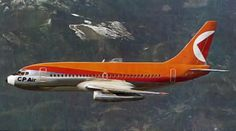 Vancouver-based CP Air was founded in 1942 as Canadian Pacific Air Lines as a division of the Canadian Pacific transportation empire (which included railroads, Canadian Airlines, Pacific Airlines, Retro Airline, Vintage Air, Commercial Aircraft, Aviation Art, Air Travel, Air Show, Military Aircraft