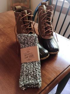 64f73a2e134d Authentic J.Crew socks Sperry Boots