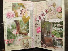 The Painted Flower: more visual journal pages...