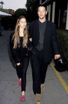Sofia Coppola Keanu Reeves, 1992