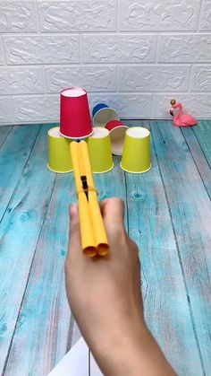 Fun game for kid Diy Crafts Hacks, Diy Crafts For Gifts, Diy Home Crafts, Diy Arts And Crafts, Creative Crafts, Crafts To Do, Craft Stick Projects, Boat Crafts, Diy Projects