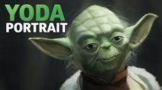 YODA Portrait - SPEEDART - Star Wars