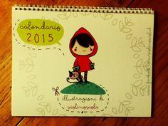 Calendario favole illustrate 2015 spiralato : Calendari di violinoviola
