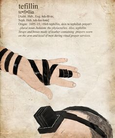 Tefillin  http://www.thelostkey.com/