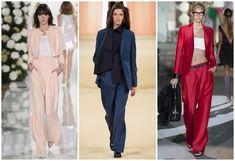 100 модных новинок: Женские костюмы 2018 тенденции и тренды фото
