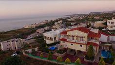 Villa Apollon from above! #Greece #sea #love #hate #relaxation #holidays #Crete #Rethymno #villas4u #luxurylife #life #crisis