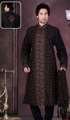 Designer Indian Pakistani Kurta Pajama Party Wear Kurta Pajama #BharatPlaza #KurtaPajama