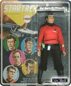 Mego - Star Trek Scottie Action Figure - still own this
