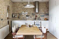 cuisine Melange moderne et ancien
